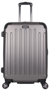 Kenneth Cole Reaction   Luggage Corner Guard 24-Inch Checked Hard Shell Luggage