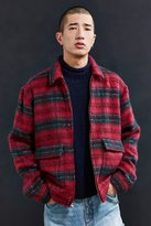 Urban Outfitters Hairy Plaid Gas Jacket