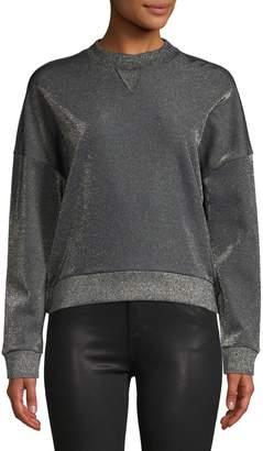 HUGO Naleina Metallic Sweatshirt