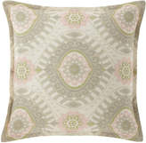 "Isabella Collection Lisette Pillow, 18""Sq."
