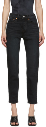 Levi's Levis Black Wedgie Fit Ankle Jeans