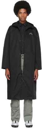 A-Cold-Wall* A Cold Wall* Black Core Rubberized Coat