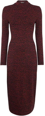 Whistles Jersey Jacquard Bodycon Dress