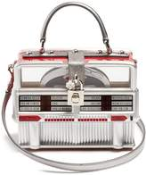 Dolce & Gabbana Dolce Box leather-trimmed jukebox bag