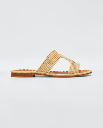 Carrie Forbes Moho Woven Flat Sandals