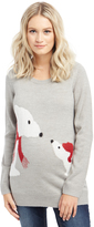 Motherhood Polar Bear Maternity Sweater