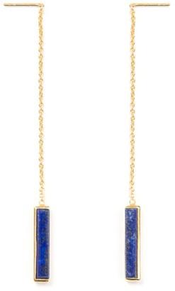 Jewel Tree London Urban Earrings Lapis Lazuli