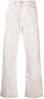 Maison Margiela Acid-Wash Straight-Leg Jeans