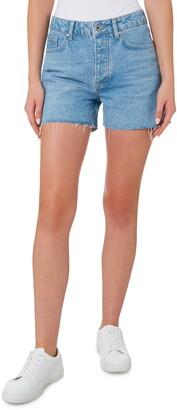 Outland Denim Annie High Waist Denim Shorts