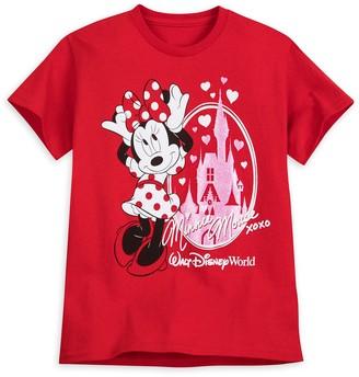 Disney Minnie Mouse Cinderella Castle T-Shirt for Girls Walt World