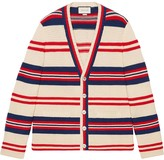 Gucci Cotton wool cardigan with applique