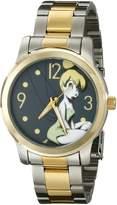 Disney Women's W001823 Cinderella Analog Display Analog Quartz Silver Watch