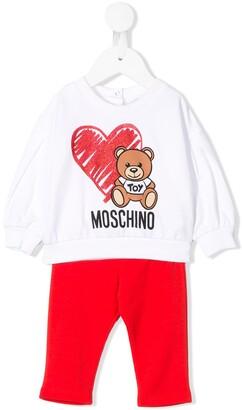MOSCHINO BAMBINO Teddy Tracksuit
