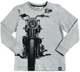 Molo Moto Printed Cotton Jersey T-Shirt