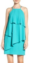 Adelyn Rae Women's Strappy Back Layered Dress