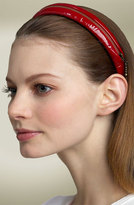 Cara Accessories Leopard Print Zip Headband