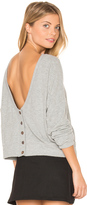 Project Social T Index Button Back Cardigan
