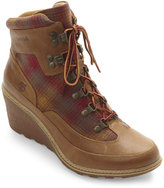 Timberland Wheat Amston Hiker Wedge Boots