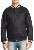 G Star Raw Denim Bomber Jacket