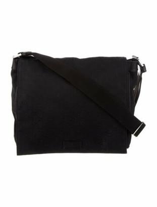 Gucci GG Canvas Large Messenger Bag Black
