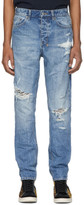Ksubi Blue Wolf Gang Klub Krushed Jeans