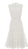 Giambattista Valli A Line Eyelet Dress