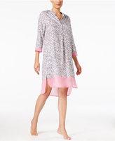 DKNY Chiffon-Trimmed Sleepshirt