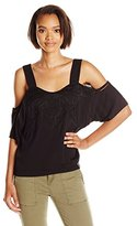 Townsen Women's Pele Embroidered Cold Shoulder