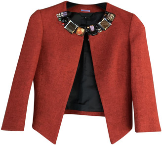 Paul Smith Red Wool Jackets