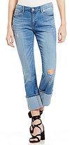 Buffalo David Bitton Faith Cropped Straight Jeans