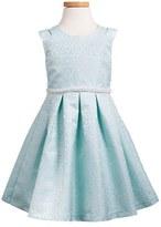 Iris & Ivy Toddler Girl's Sleeveless Jacquard Dress