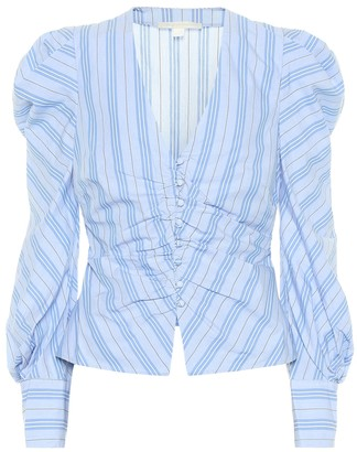 Jonathan Simkhai Striped cotton top