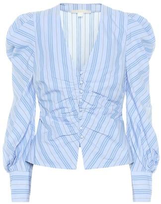Jonathan Simkhai Striped cotton top