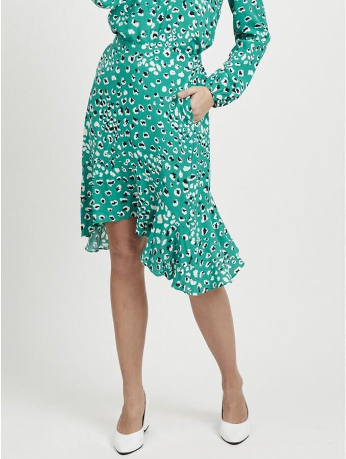 Thumbnail for your product : M&Co VILA animal print skirt