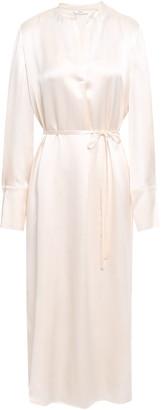 Vince Silk-satin Midi Dress