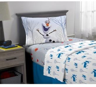 Disney Frozen Frozen 2 Olaf Sheet Set, Kids Bedding, 3-Piece Twin Size