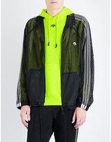 Adidas X Alexander Wang 3-stripes-detail Sports Mesh Jacket