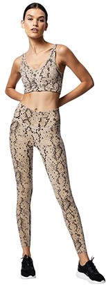 Varley Century Leggings 2.0 (Cashmere Cheetah) Women's Casual Pants