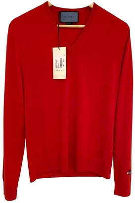 Gucci Red Wool Knitwear & Sweatshirts