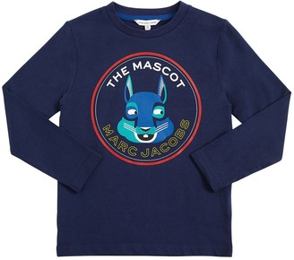 Little Marc Jacobs Mascot Print Cotton T-shirt