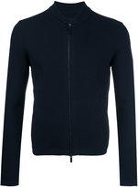 Emporio Armani zipped cardigan - men - Polyamide/Polyester/Viscose - 50