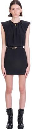 Versace Dress In Black Silk