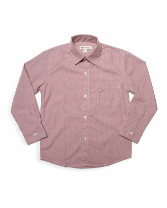 Appaman Boy's Standard Micro Grid Dress Shirt, Size 2-12
