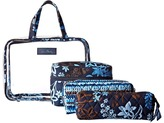 Vera Bradley Luggage - Four-Piece Cosmetic Organizer Cosmetic Case
