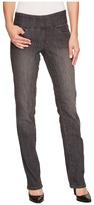 Jag Jeans Peri Pull-On Straight in Thunder Grey Women's Jeans