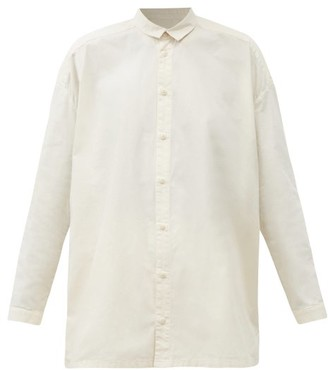 Toogood The Draughtsman Cotton-calico Shirt - Cream