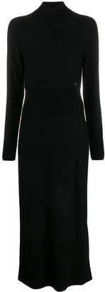 Calvin Klein roll neck knitted dress