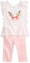 Nannette 2-Pc. Shirt & Leggings Set, Toddler & Little Girls (2T-6X)
