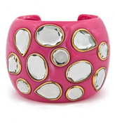 Isharya Polki Pink Cuff