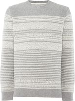 Barbour Men's Fairisle crew neck jumper